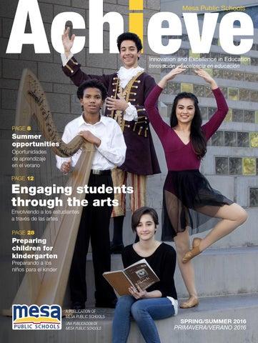 Mesa Public Schools - Achieve - Spring 2016 by Republic Media ...