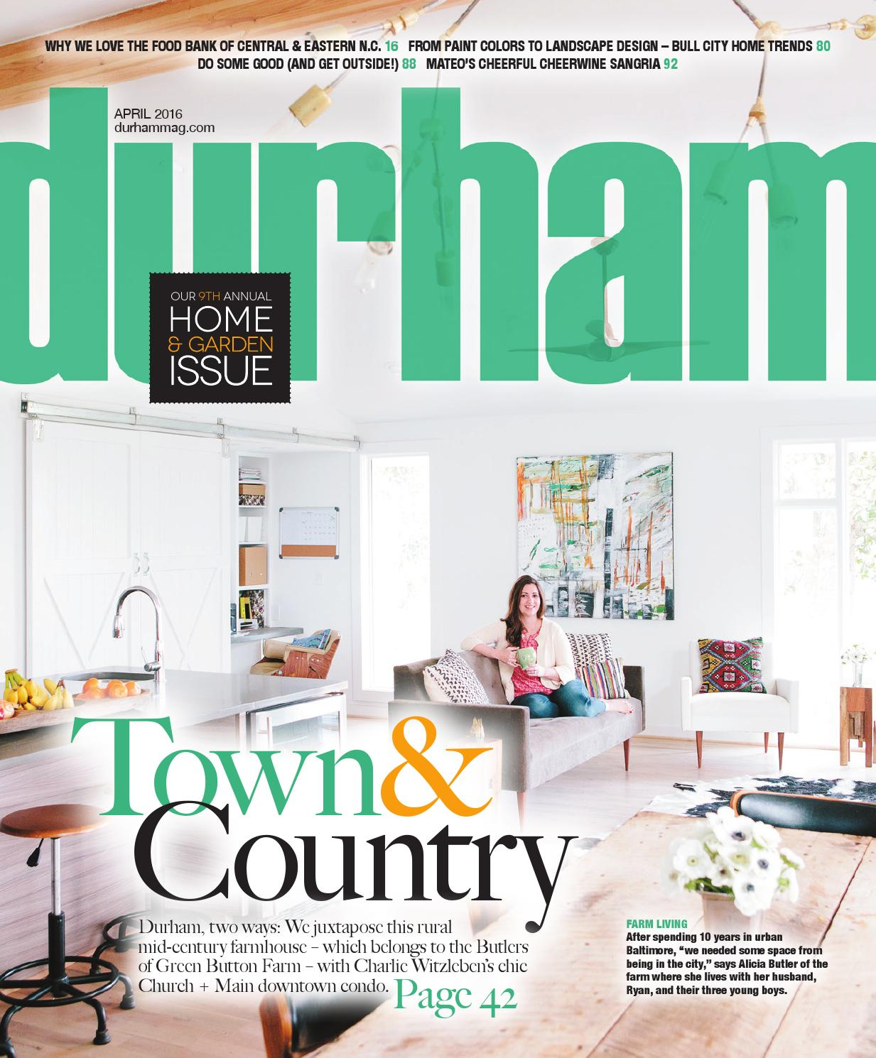 Durham Magazine April 2016 By Shannon Media