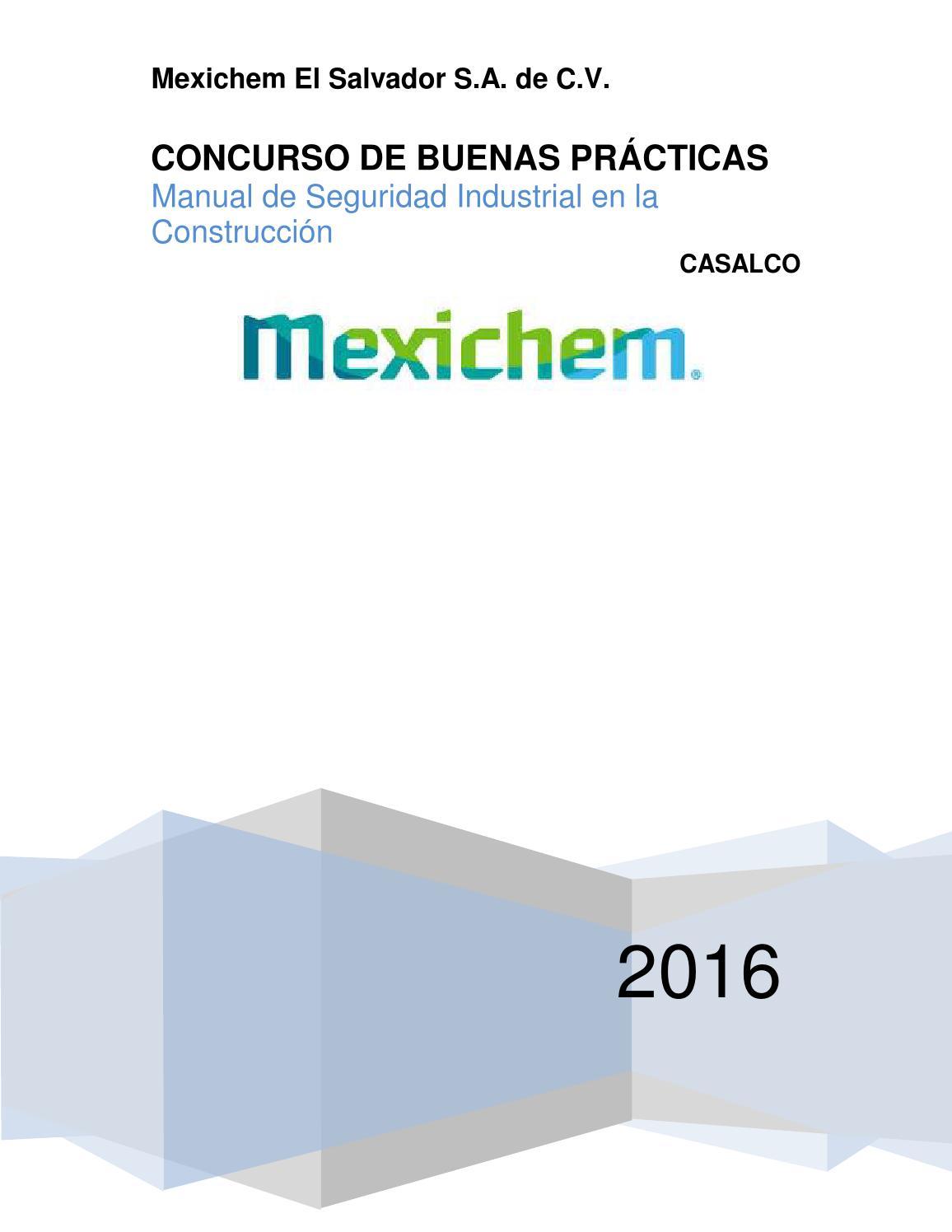 AMANCO-MEXICHEM Manual de Seguridad en la Construcción 2016