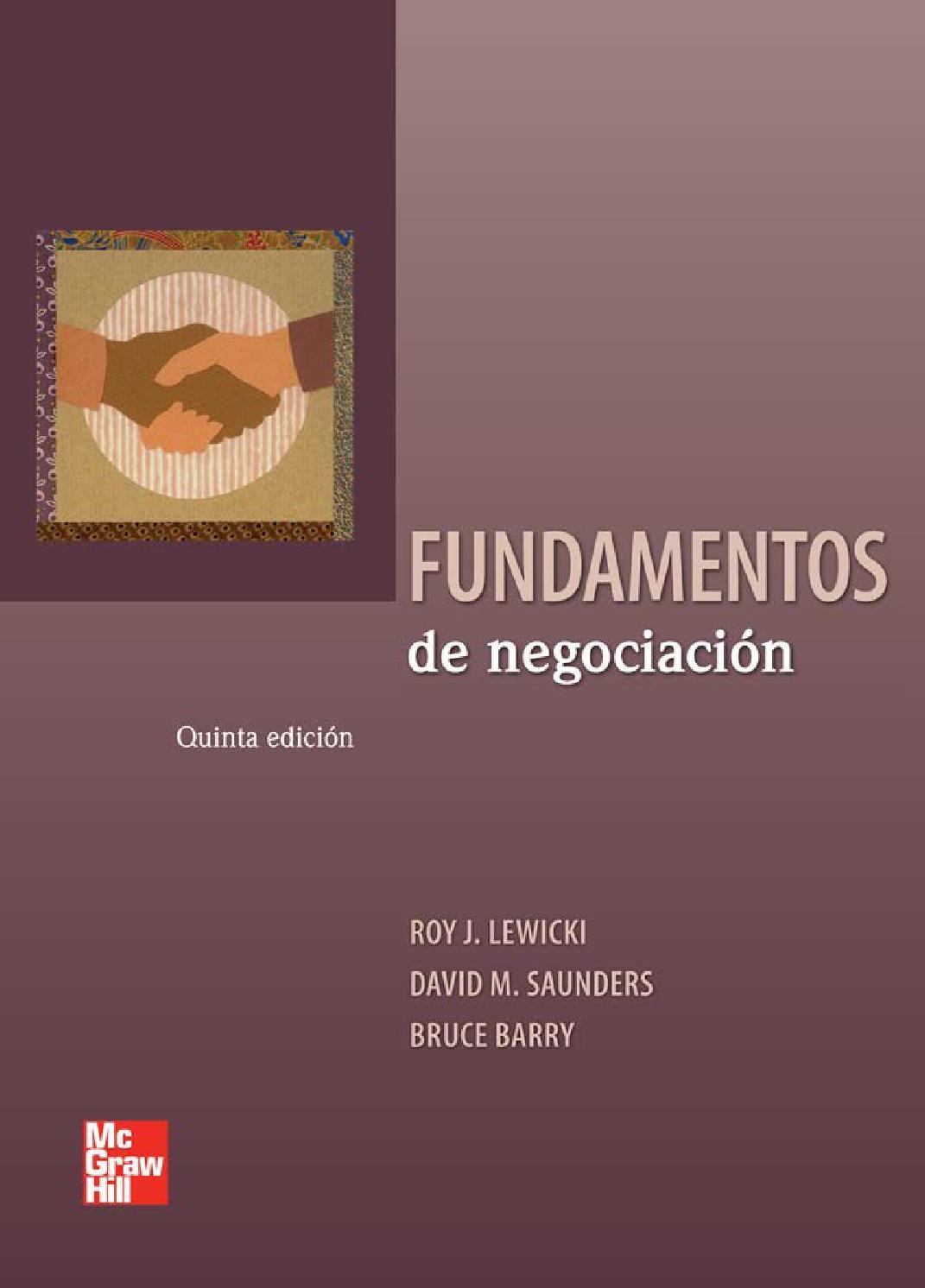 Fundamentos de negociación by Jordy Garcia Mendoza - issuu