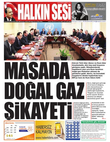 0fbd1ad6ab42d 29 mart 2016 by Halkı Sesi Gazetesi KKTC - issuu