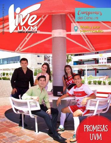 Revista vive uvm campus hermosillo marzo 2016 by revista for Universidades en hermosillo