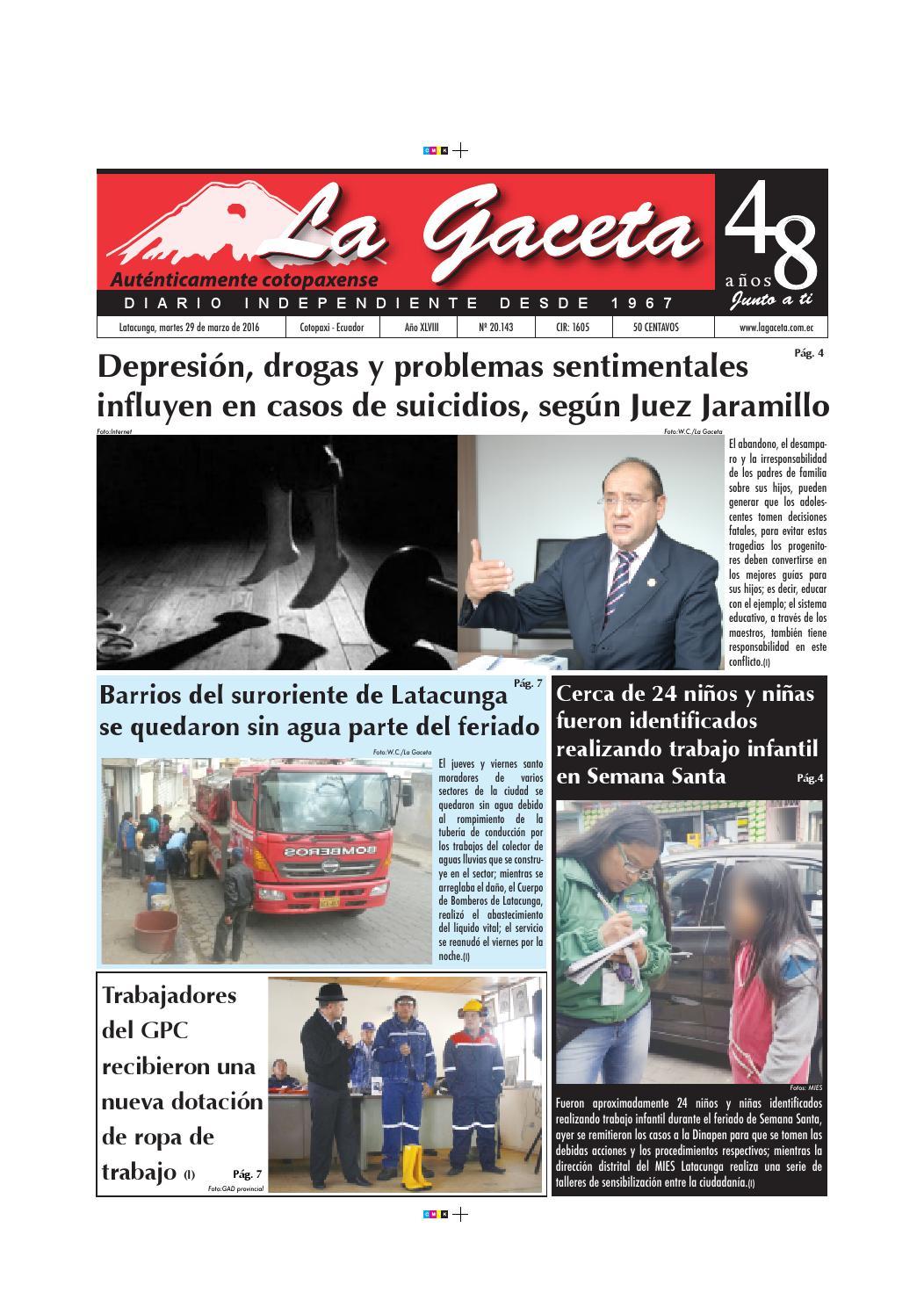 La Gaceta 29 marzo 2016 by Diario La Gaceta - issuu