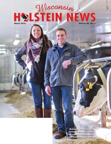 March 2016 WI Holstein News