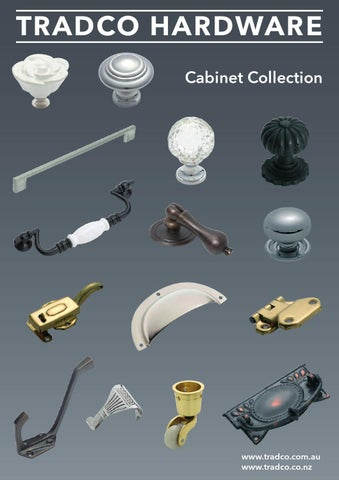 Tradco Hardware Cabinet Collection