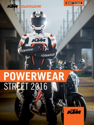 Alpinestars Leather Jacket >> KTM PowerWear Street Catalog 2016 USA by KTM GROUP - Issuu