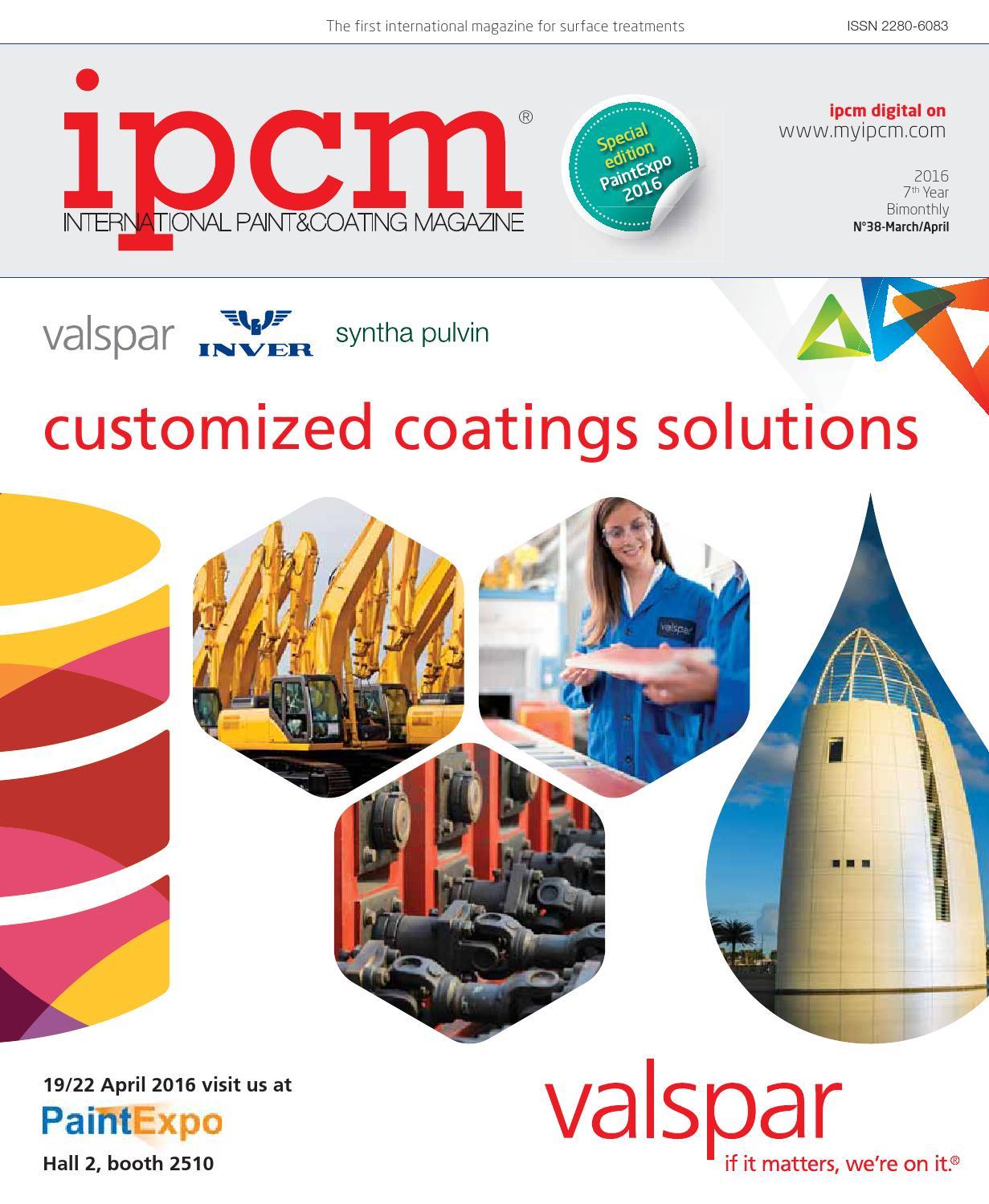 ipcm® n. 38 - March April 2016 by ipcm® International Paint Coating  Magazine - issuu 05d853d5302a