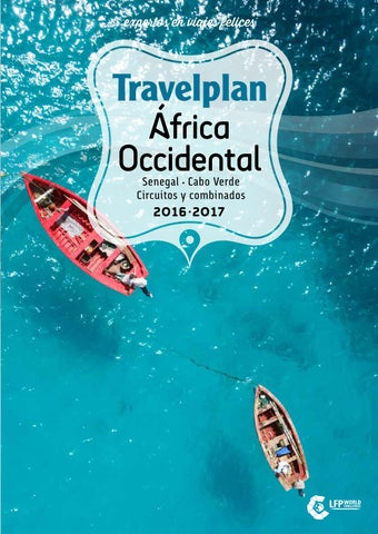 Travelplan África Occidental 2017