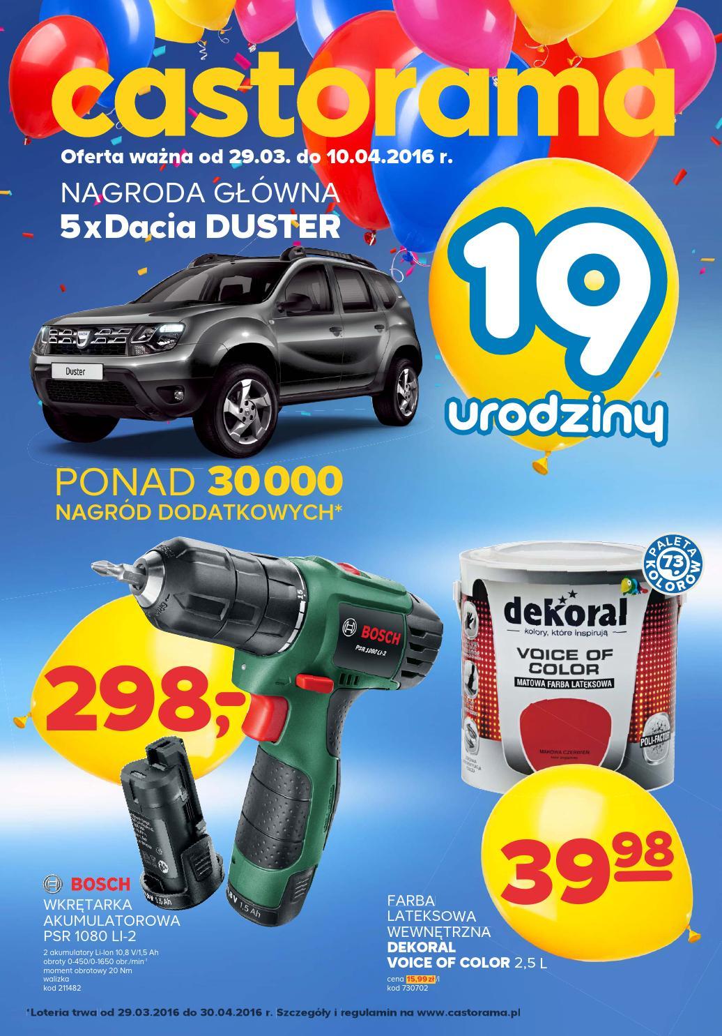 Castorama Gazetka Od 29 03 Do 10 04 2016 By Iulotka Pl Issuu