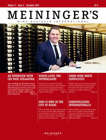7847510b9d MEININGER S WINE BUSINESS INTERNATIONAL by MEININGER VERLAG GmbH - issuu