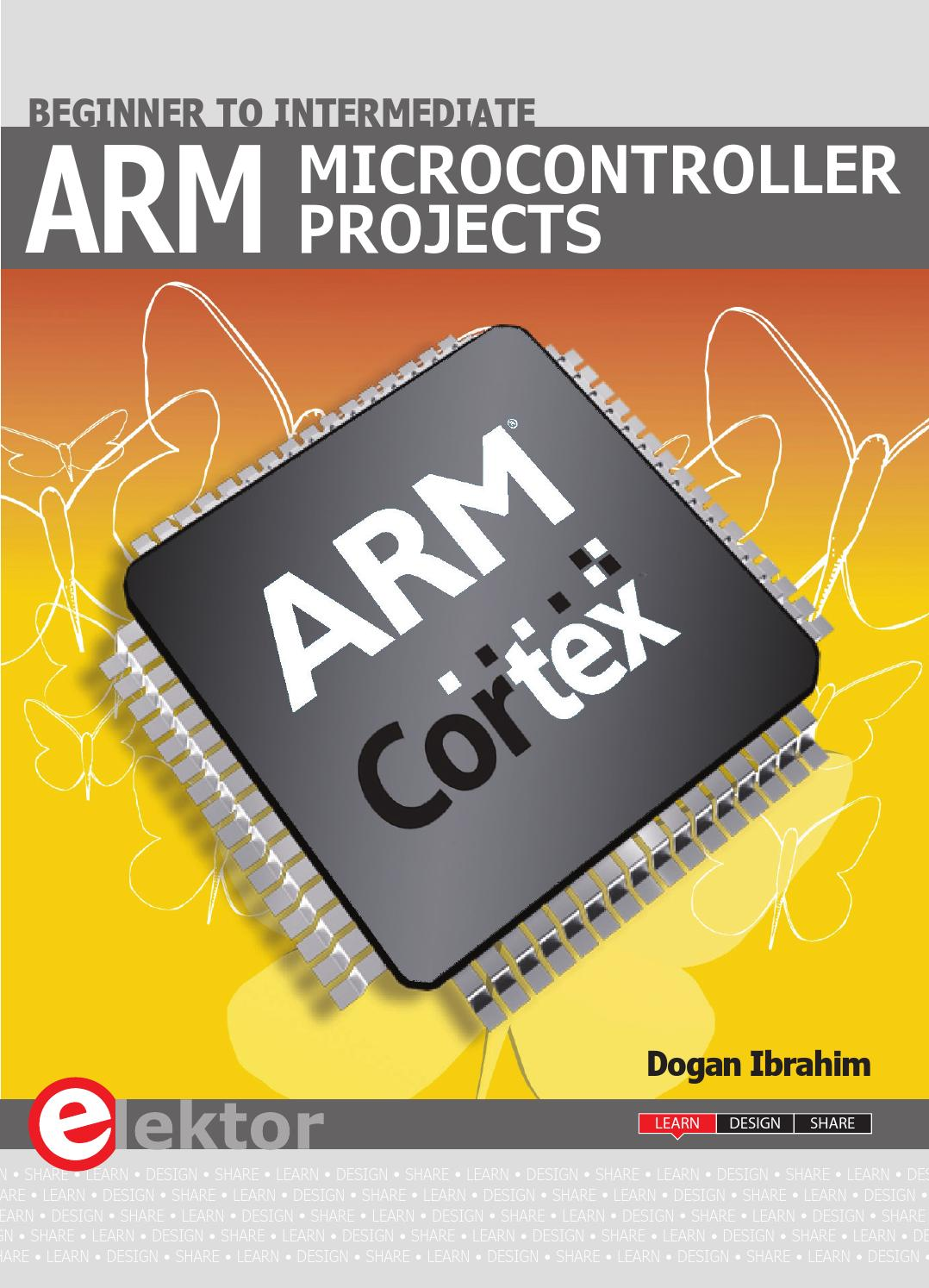 Arm Microcontroller Projects By Elektor Issuu Blinking Led Using Pic Mikroc Pro