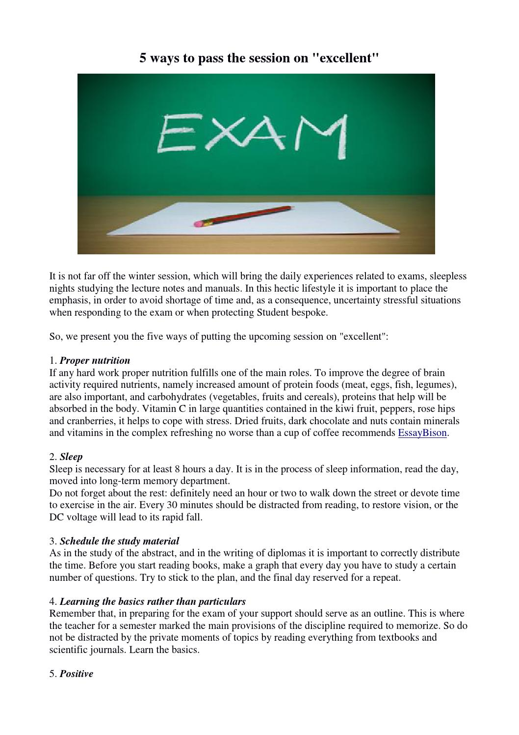 Diploma protection: how to prepare for excellent