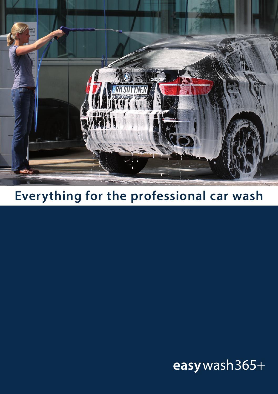Catalogo Suttner Car wash by Peruzzo Srl - issuu