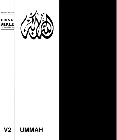 Notes On Entering Deen - Islam - Completely V2 by Talib Jaleel - issuu