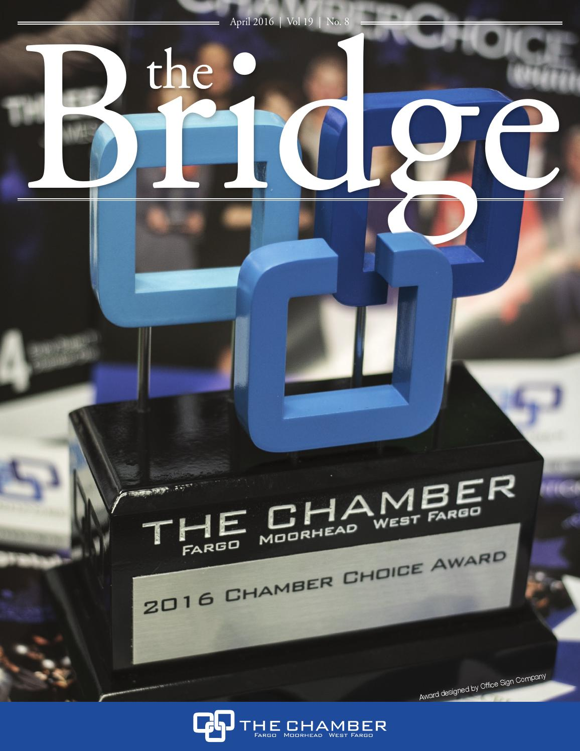The Bridge: April 2016 by The FMWF Chamber of Commerce - issuu