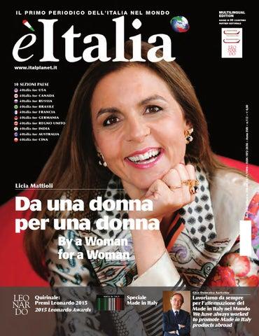 èitalia 112 – Il Primo Periodico dell Italia nel Mondo by èItalia ... bc2faf15124