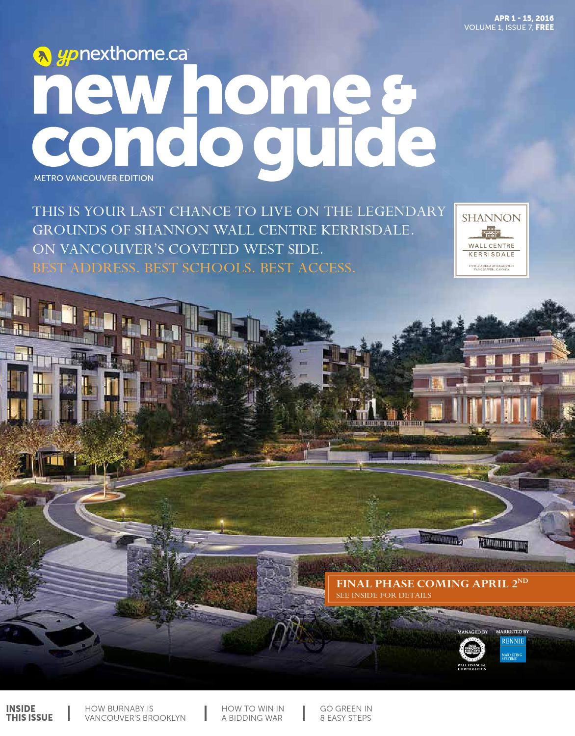 BC New Home and Condo Guide - Apr 1, 2016 by NextHome - issuu