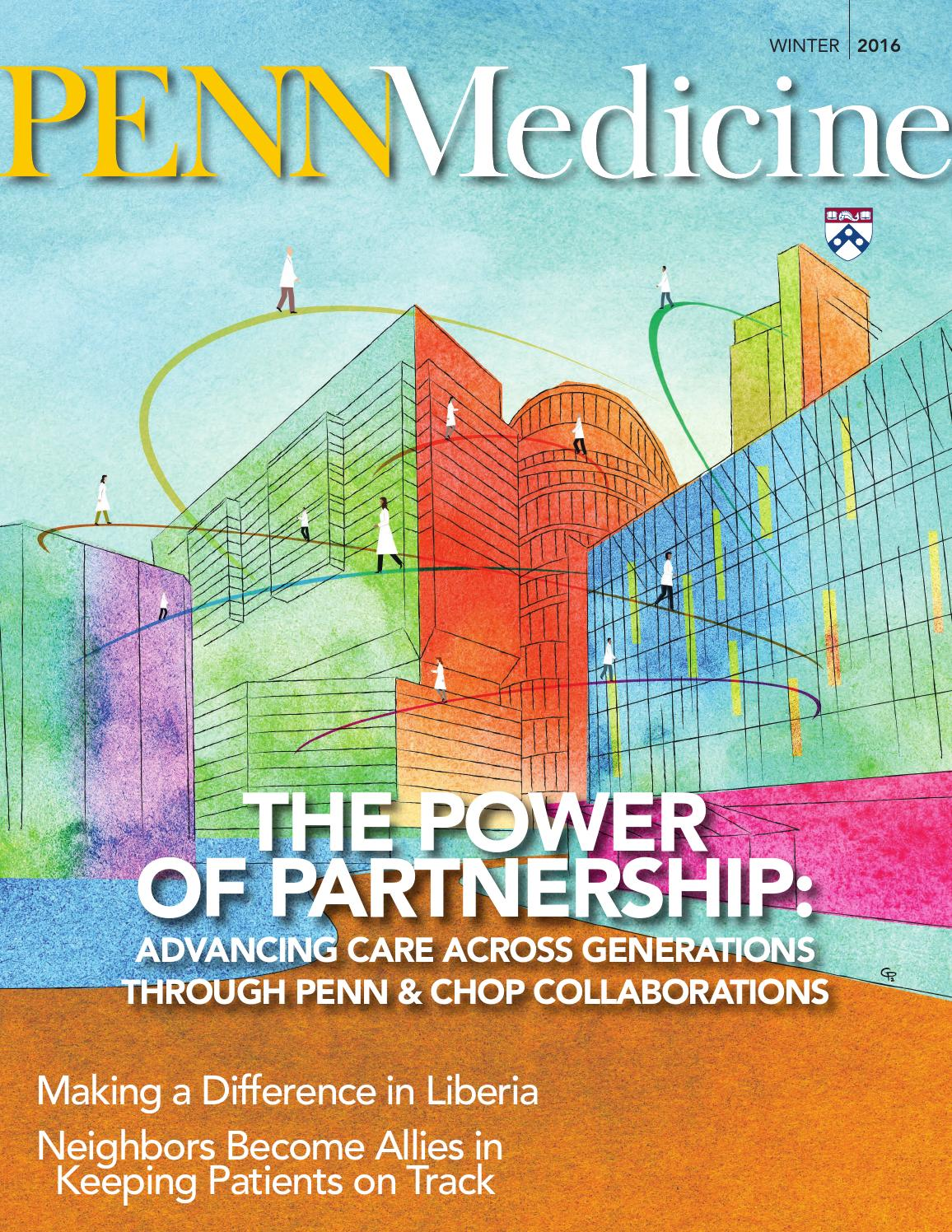 PENN Medicine Magazine | Winter 2016 by Penn Medicine - issuu