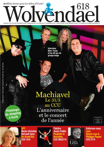 b3b0a5a562370 Wolvendael magazine n° 618 avril 2016 by Centre Culturel d Uccle - issuu