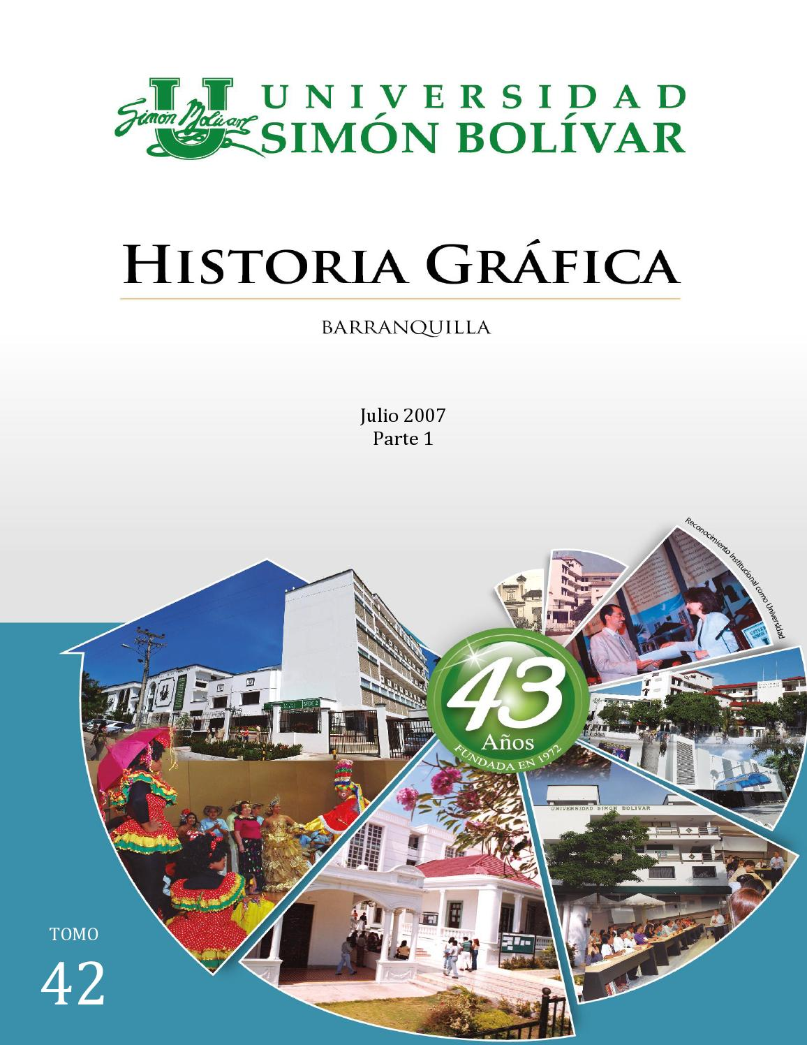 Tomo 42 - Parte 1 by UNIVERSIDAD SIMON BOLIVAR - issuu