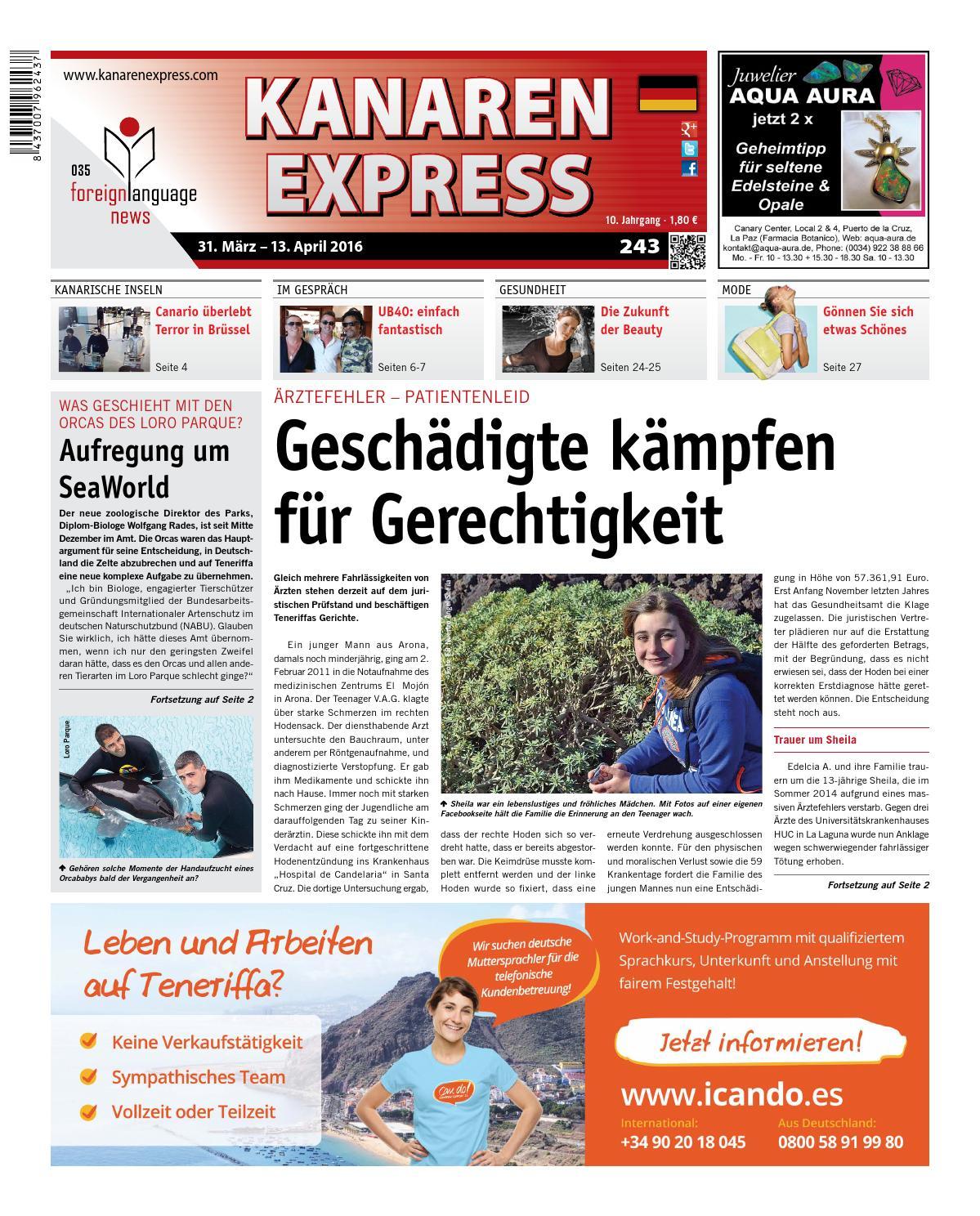 Kanaren Express 243 FLN 35 by Island Connections Media Group - issuu