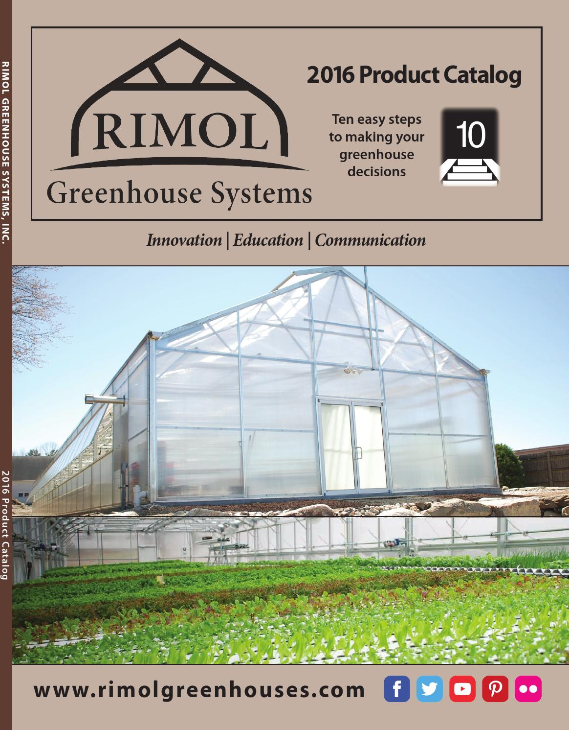 Rimol Greenhouse Catalog 2016 By Altos Issuu