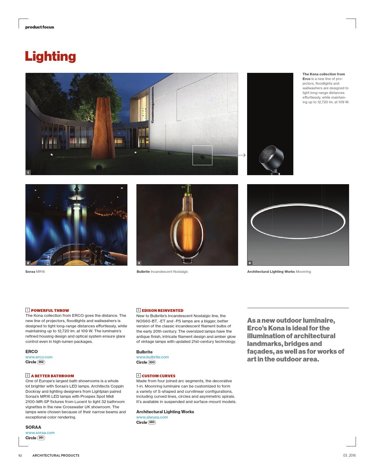 architectural products march 2016 by construction business media