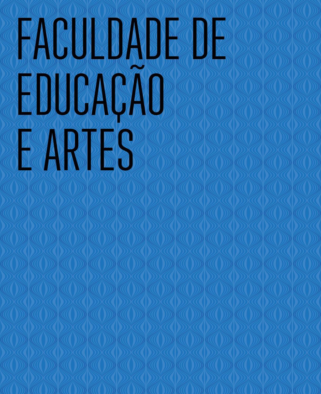 faculdade de educa231227o e artes by univap issuu