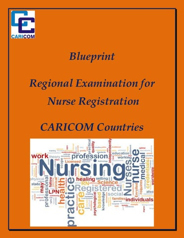 Blueprint regional examination for nurse registration caricom blueprint regional examination for nurse registration caricom countries malvernweather Choice Image