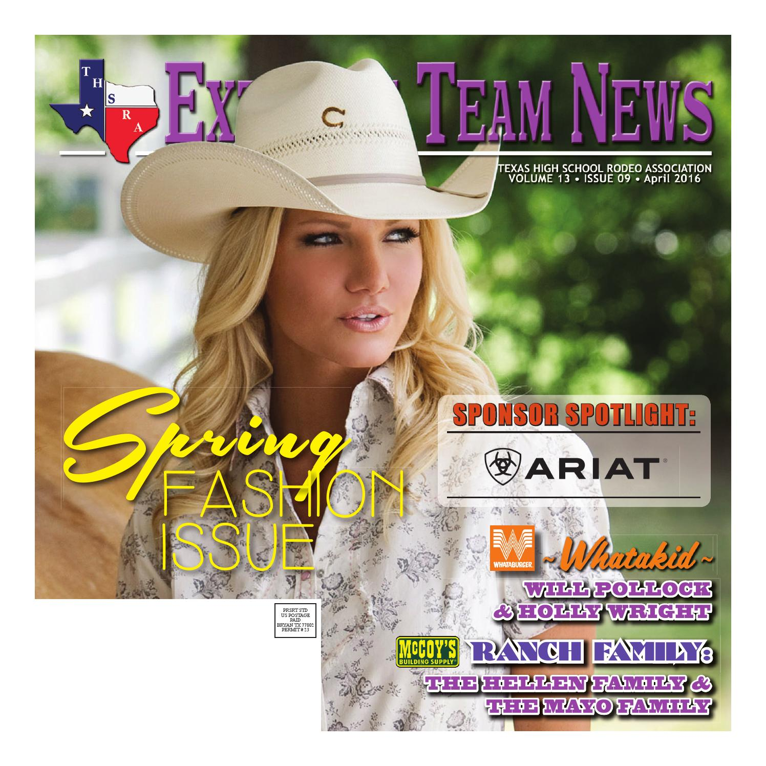 April 2016 Extreme Team News Official News Of Texas High