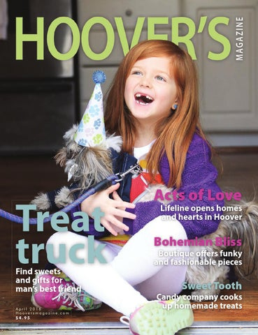 Hoover's Magazine April 2016 by Shelby County Newspapers