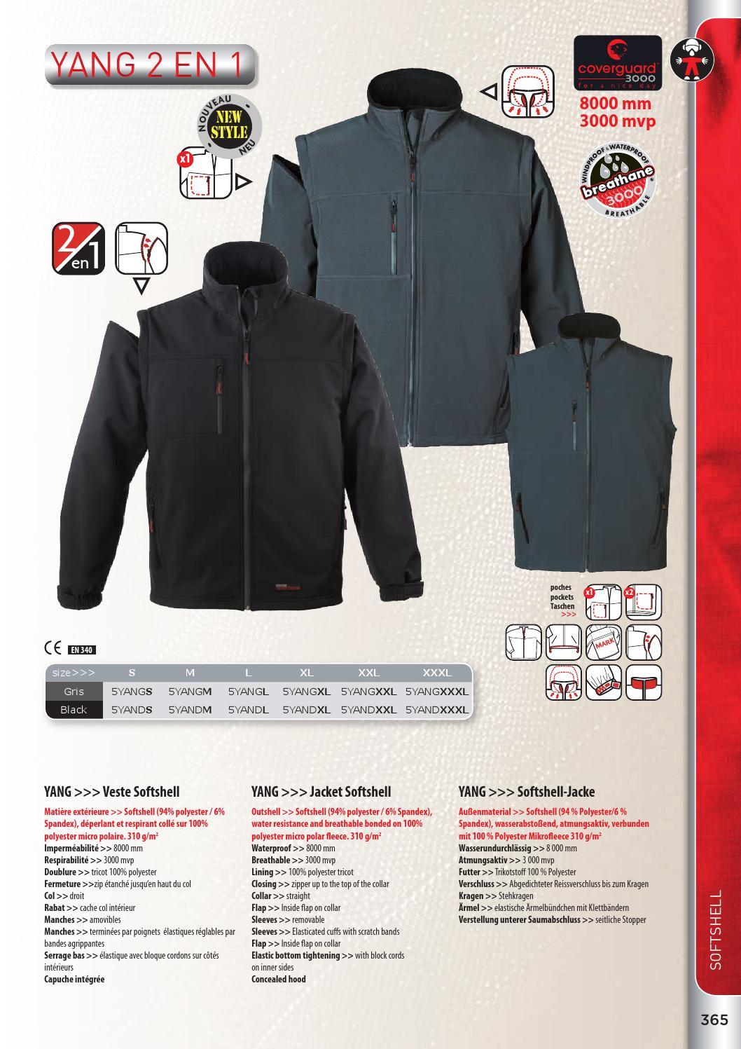 Blau-Schwarz Delta Plus MYSE2BNGT Softshell-Jacke 96/% Polyester 4/% Elasthan 3XL Abnehmbare /Ärmel