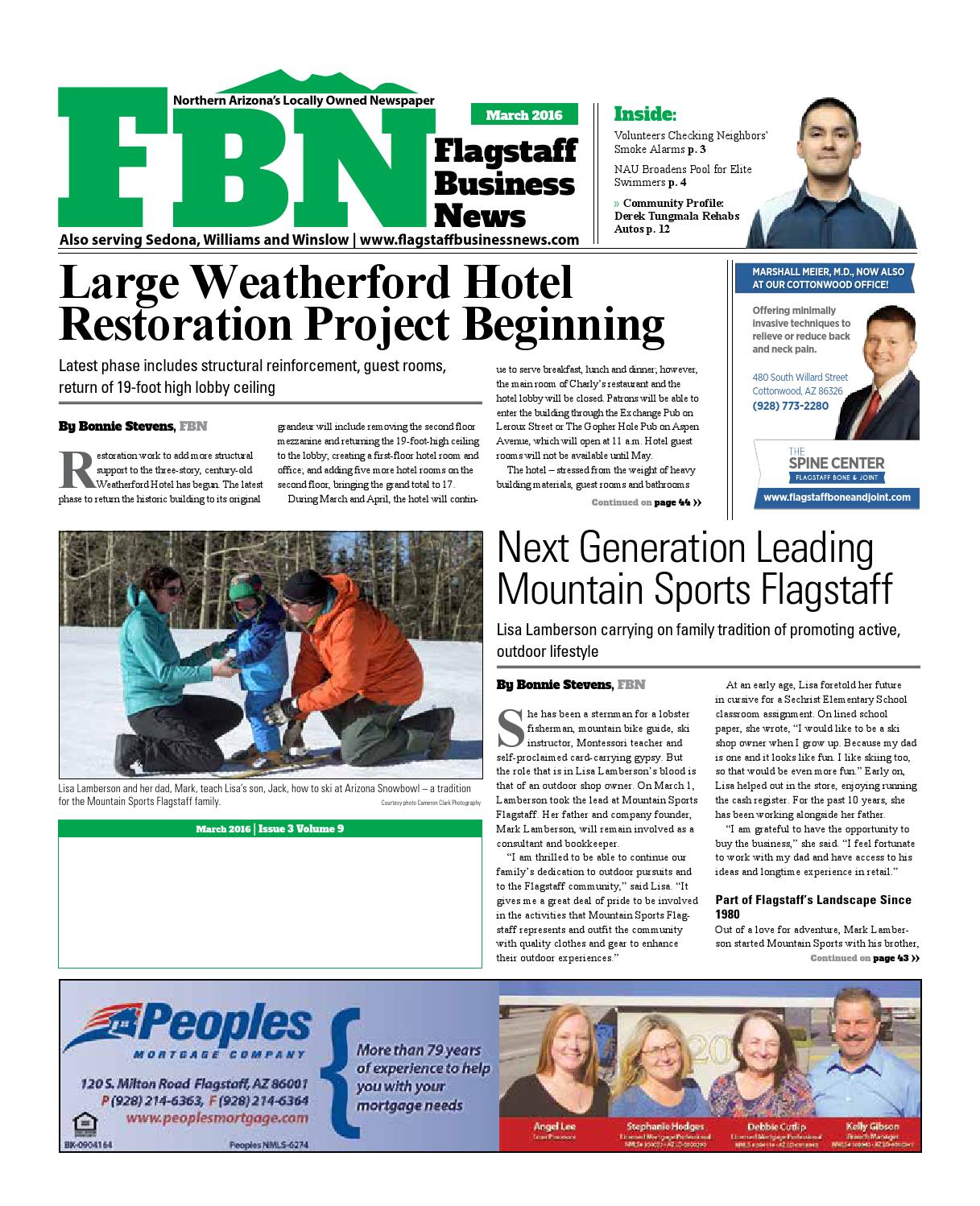 Alice Ferris Featured in Flagstaff Business News March 2016