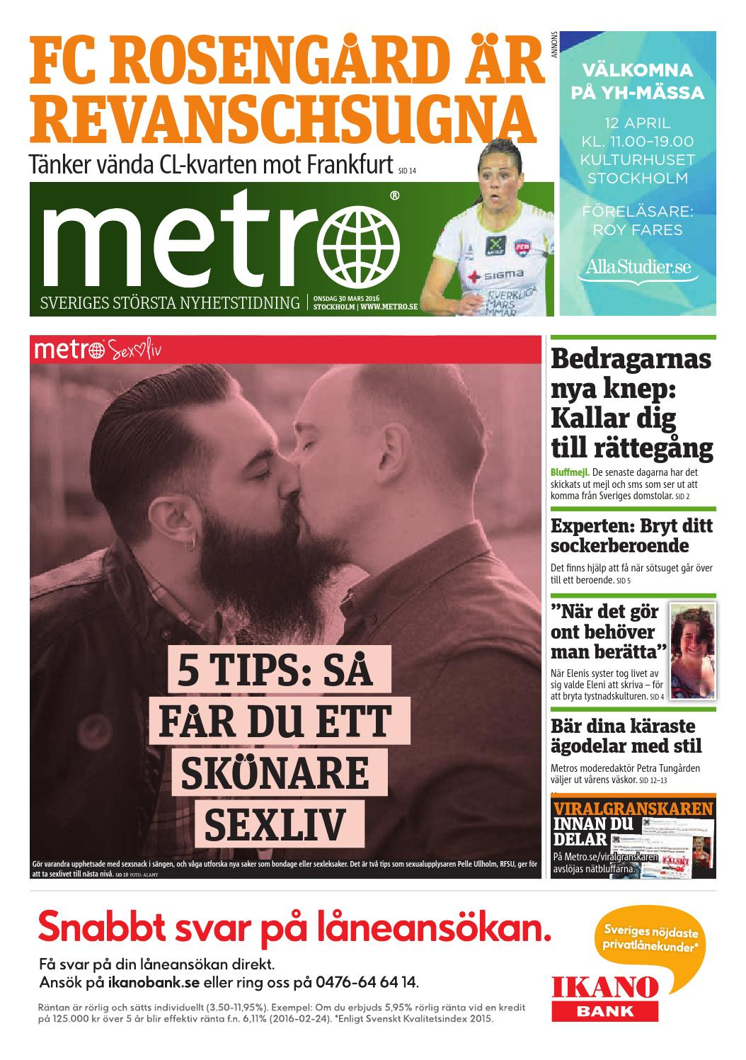 best service c9e58 25729 20160330 se stockholm by Metro Sweden - issuu