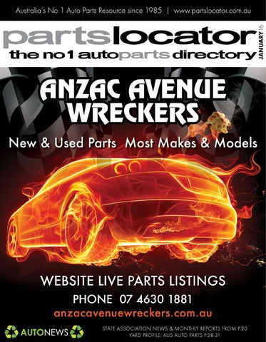 Used Parts Locator >> Parts Locator Magazine January 2016 Digital Issue By Parts