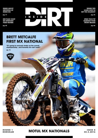 inside dirt issue 8 by mx nationals issuu rh issuu com