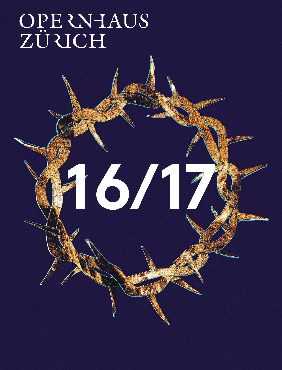 Saisonbuch 2016/17 by Opernhaus Zürich - issuu