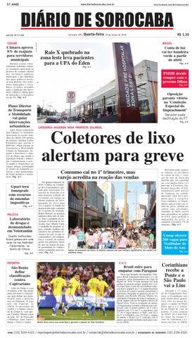 546976879aa06 Edição de 30 de março de 2016 by DIÁRIO DE SOROCABA - issuu