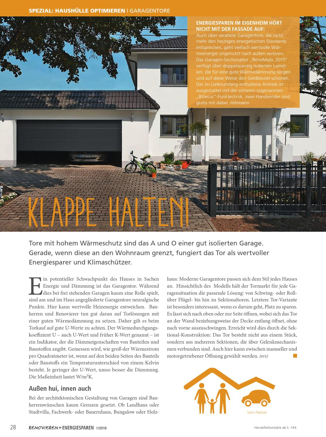 Renovieren U0026 Energiesparen 1/2016 By Family Home Verlag GmbH   Issuu