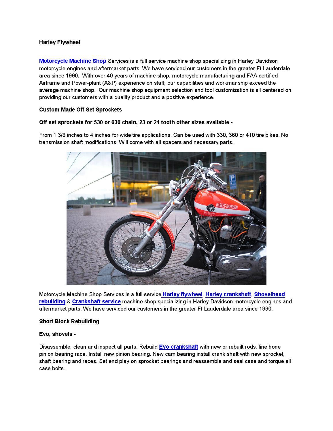 Motorcycle Crank Rebuilding Service | Reviewmotors co