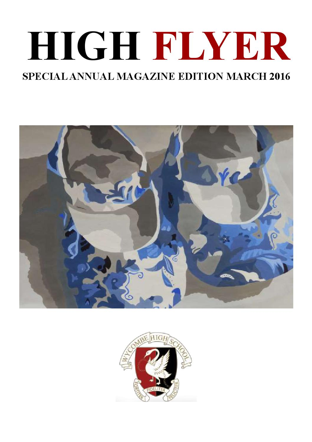 8233255ba31 Whs annual magazine 2016 by Wycombe High School - issuu