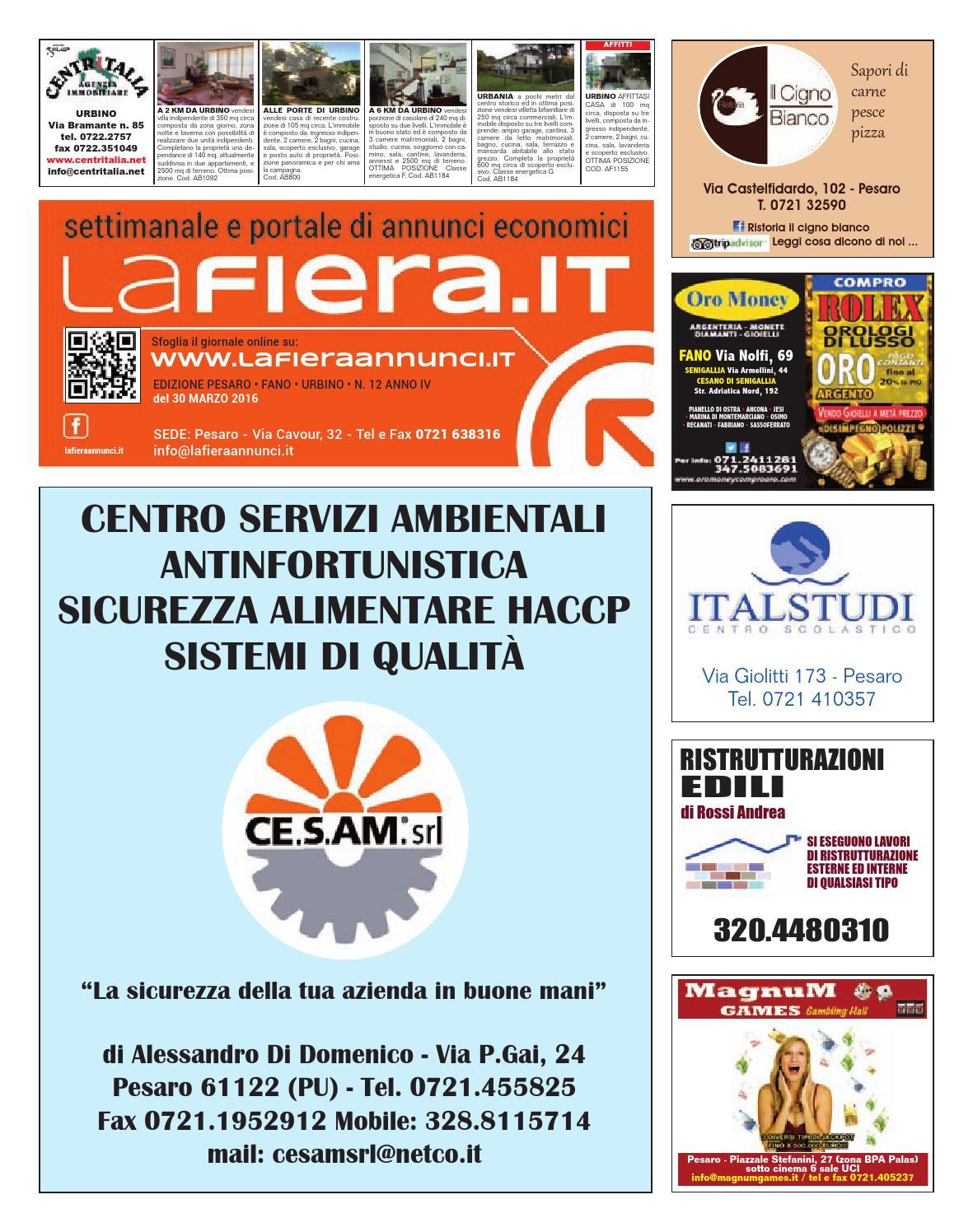 Pesaro 30 03 2016 By Edizioni Eva Issuu
