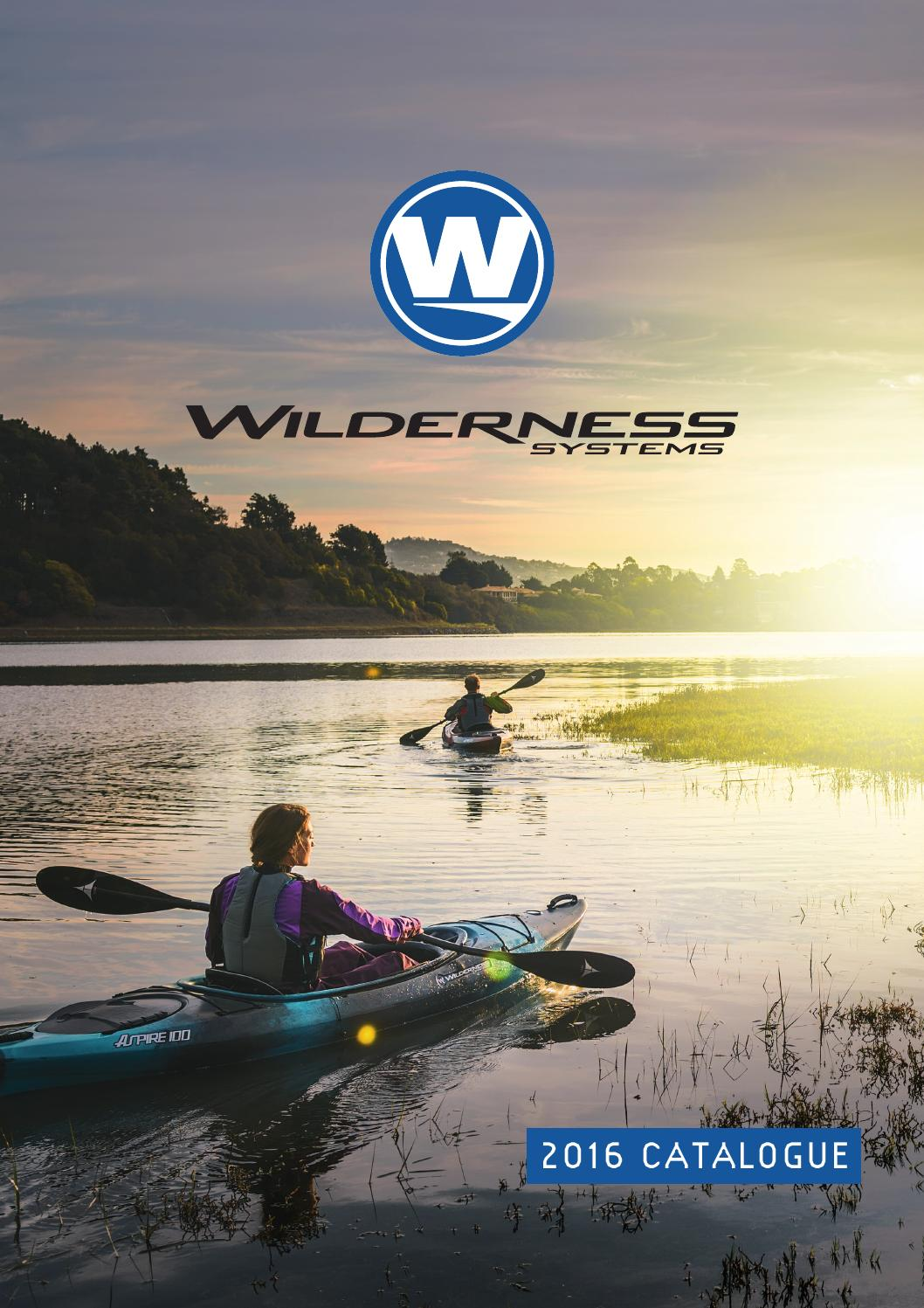 Wilderness Systems Catalogue 2016 By Palm Equipment Issuu