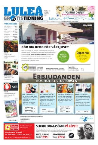 1da32f6a0d1 Luleå Gratistidning med Team Sportia bilaga by Svenska ...