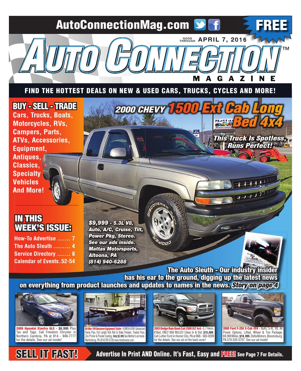 08-26-15 Auto Connection Magazine by Auto Connection Magazine - issuu