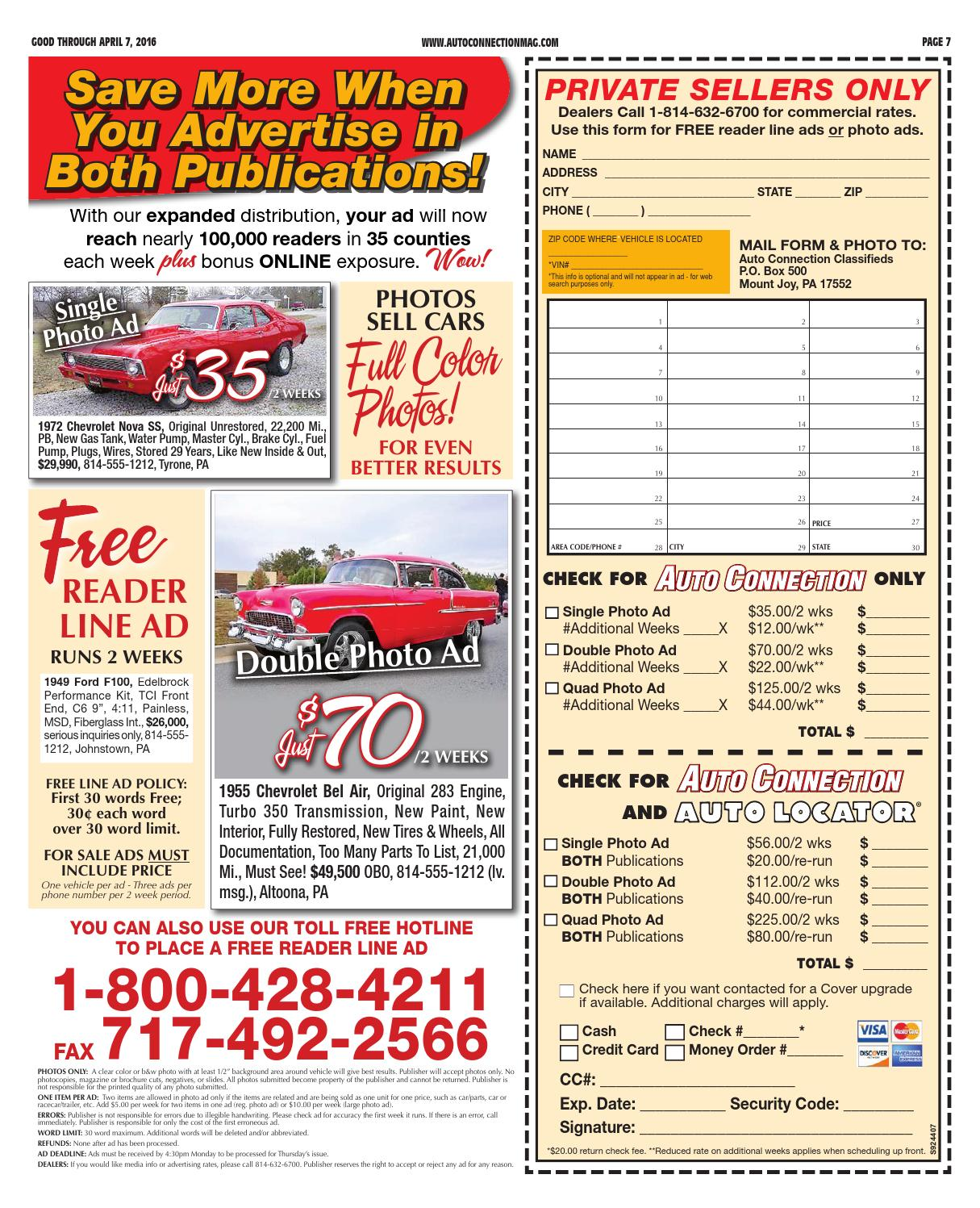 04 07 16 Auto Connection Magazine By Issuu Painless Wiring Harness 57 Bel Air