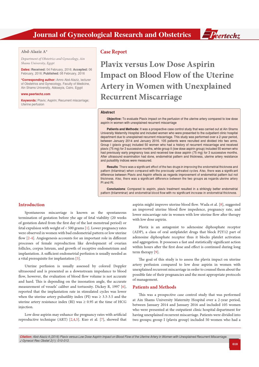 plavix case study Plavix plus aspirin a risky combination  topol has since left the clinic and is at case  they gave everyone in the study low daily doses of aspirin plus plavix.