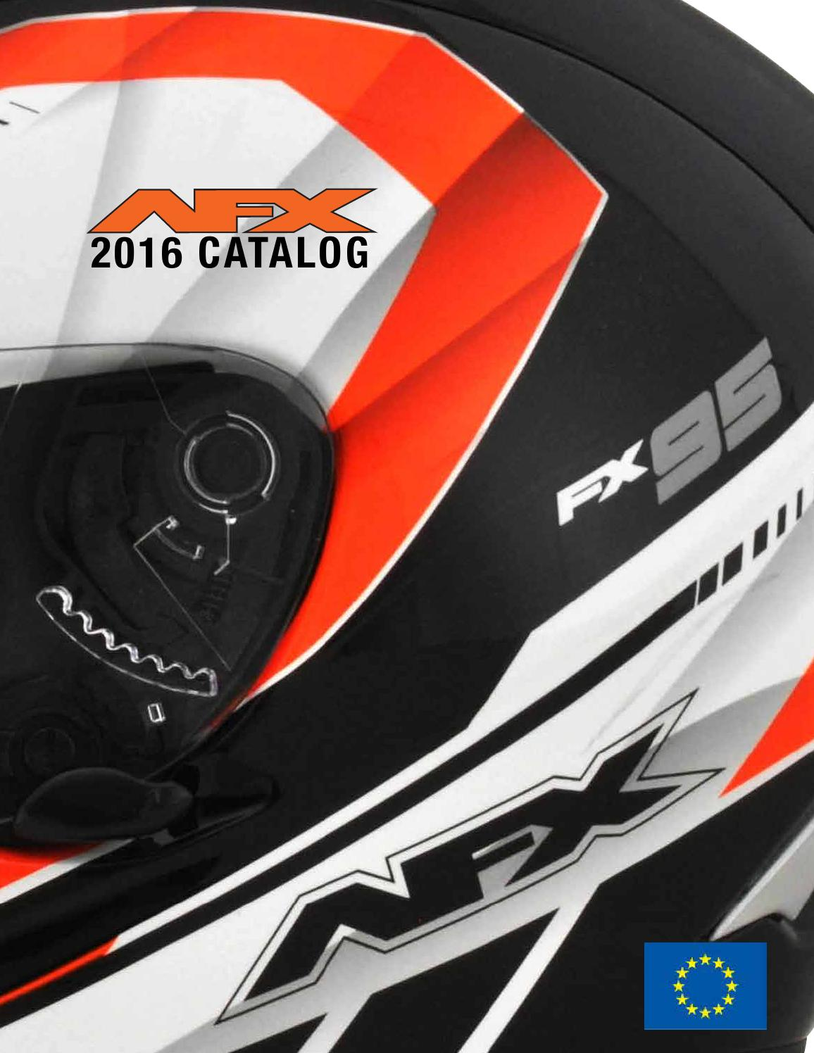AFX 0130-0590 Anti-Scratch Face Shield for FX-24 Helmets Dark Smoke