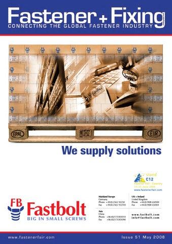 Fastener + Fixing Magazine #51 by Fastener + Fixing Magazine