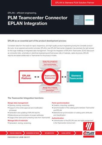 EPLAN integration PLM Teamcenter_EN by EPLAN Software & Services